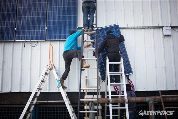 Солнечные панели на севере Канады