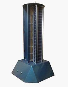 Установка объединяет ветроротор и солнечную панель
