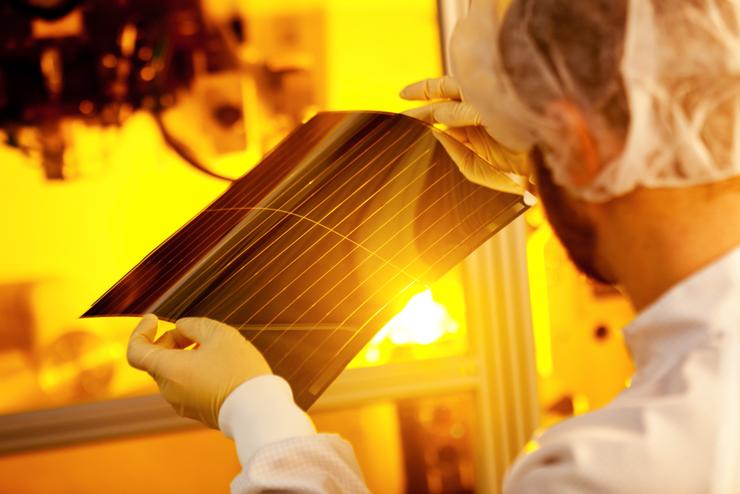 Солнечные панели толщиной 1 миллиметр