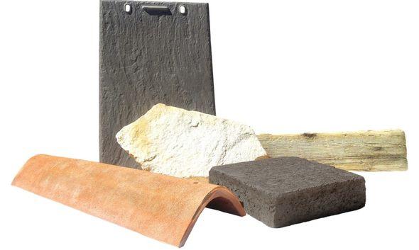 Солнечные панели, которые выглядят в точности как натуральные строительные материалы — черепица, каменный брусок или даже деревянная балка