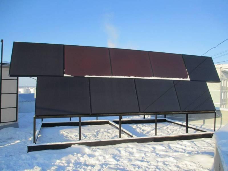 Вакуумные гелиевые солнечные нагреватели