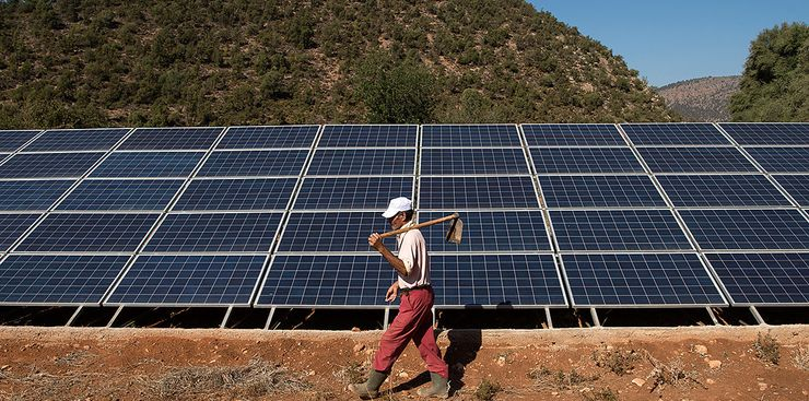 Цена солненчных панелей продолжает падать