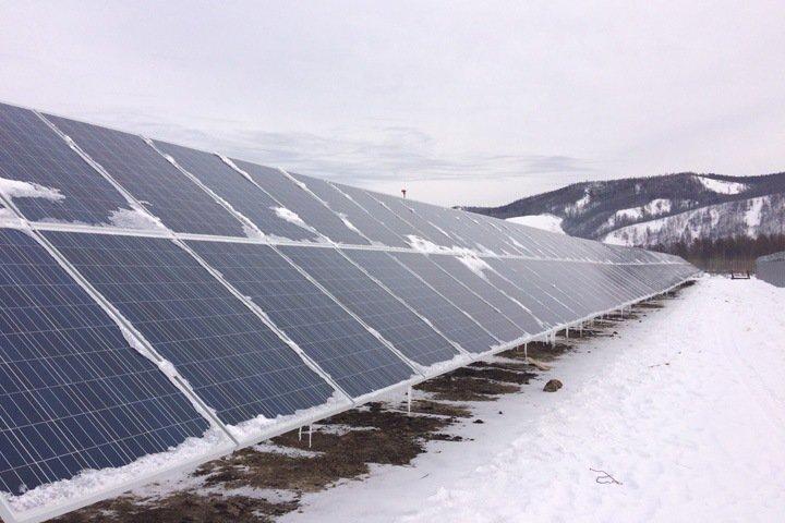 автономная гибридная энергоустановк (АГЭУ) в селе Менза