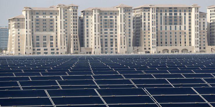 Солнечная электростанция в ОАЭ