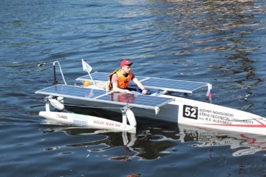 соревнования маломерных судов на солнечных батареях