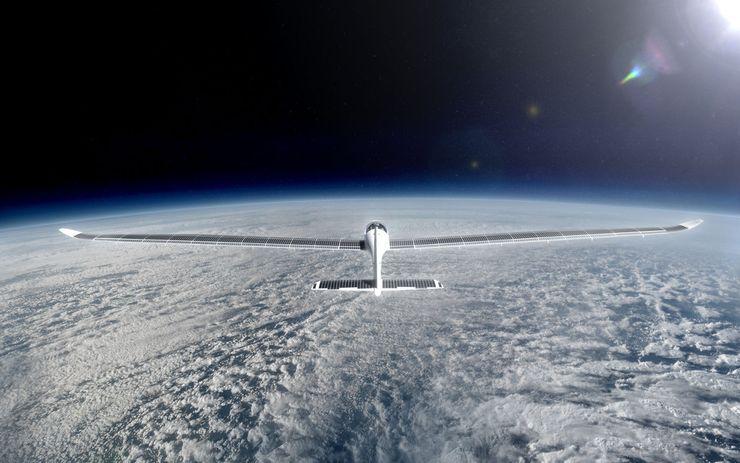 В космос на солнечной энергии