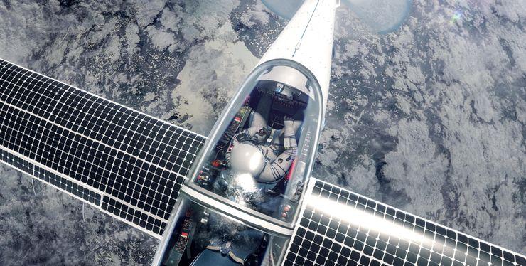 Стратосферный самолет SolarStratos на солнечной энергии