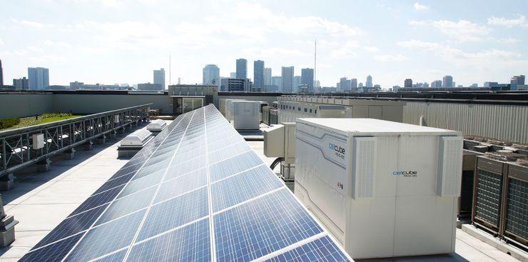 Хранилища солнечной энергии