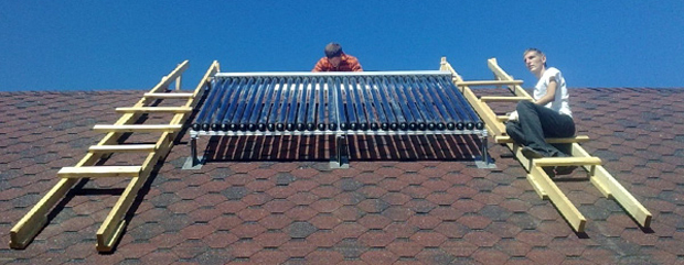 Солнечная энергия для дома своими руками