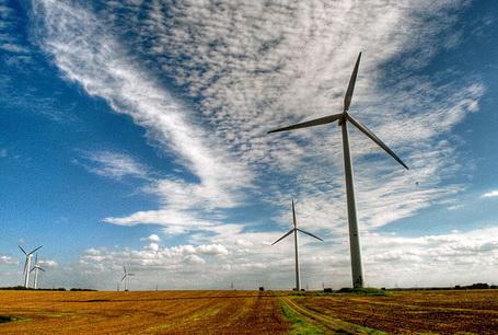 применение энергии ветра