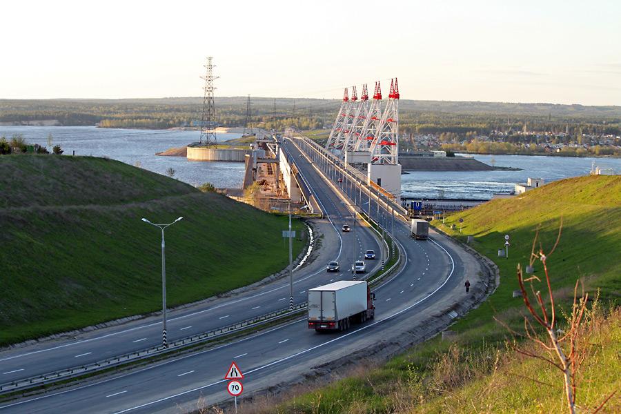 Чебоксарская гидроэлектростанция