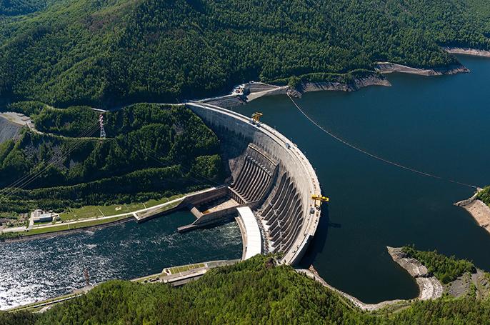 Саяно-Шушенская гидроэлектростанция