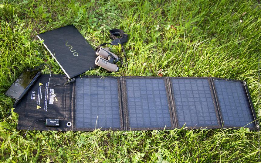 Переносные солнечные батареи для туризма: особенности выбора