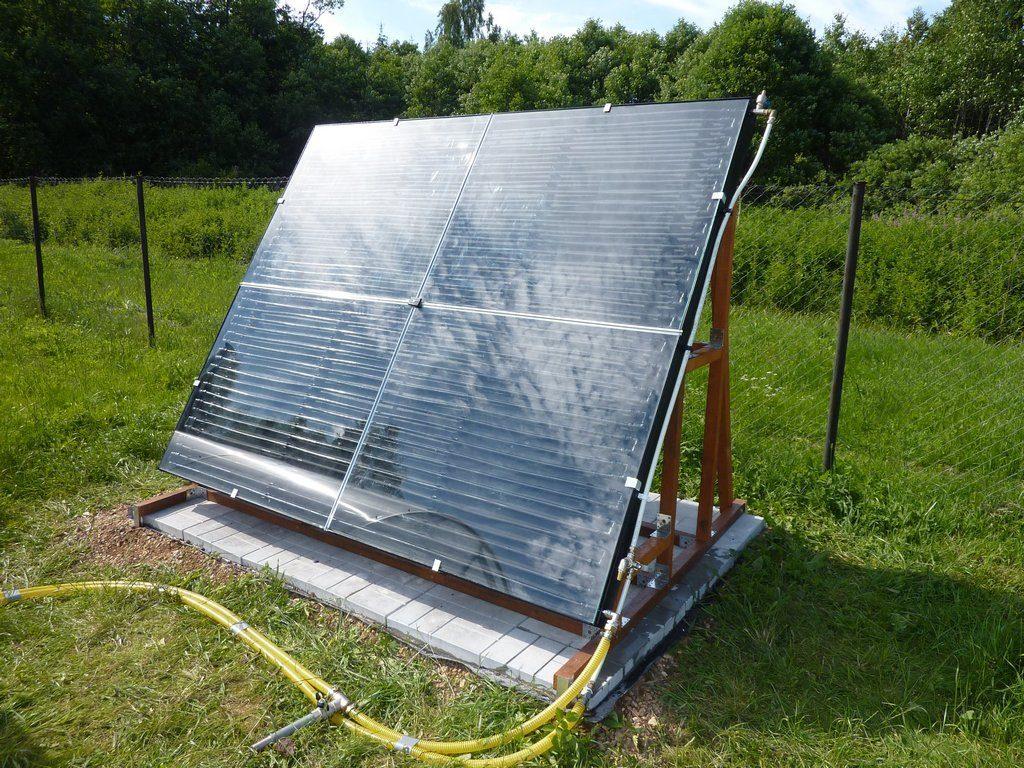 Как выбрать подходящую схему солнечного коллектора своими руками