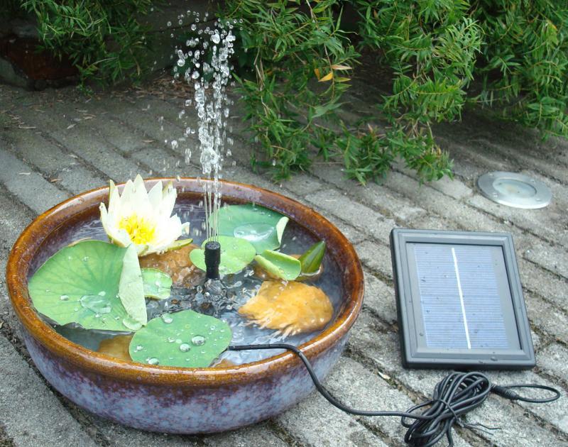 Применение солнечных насосов