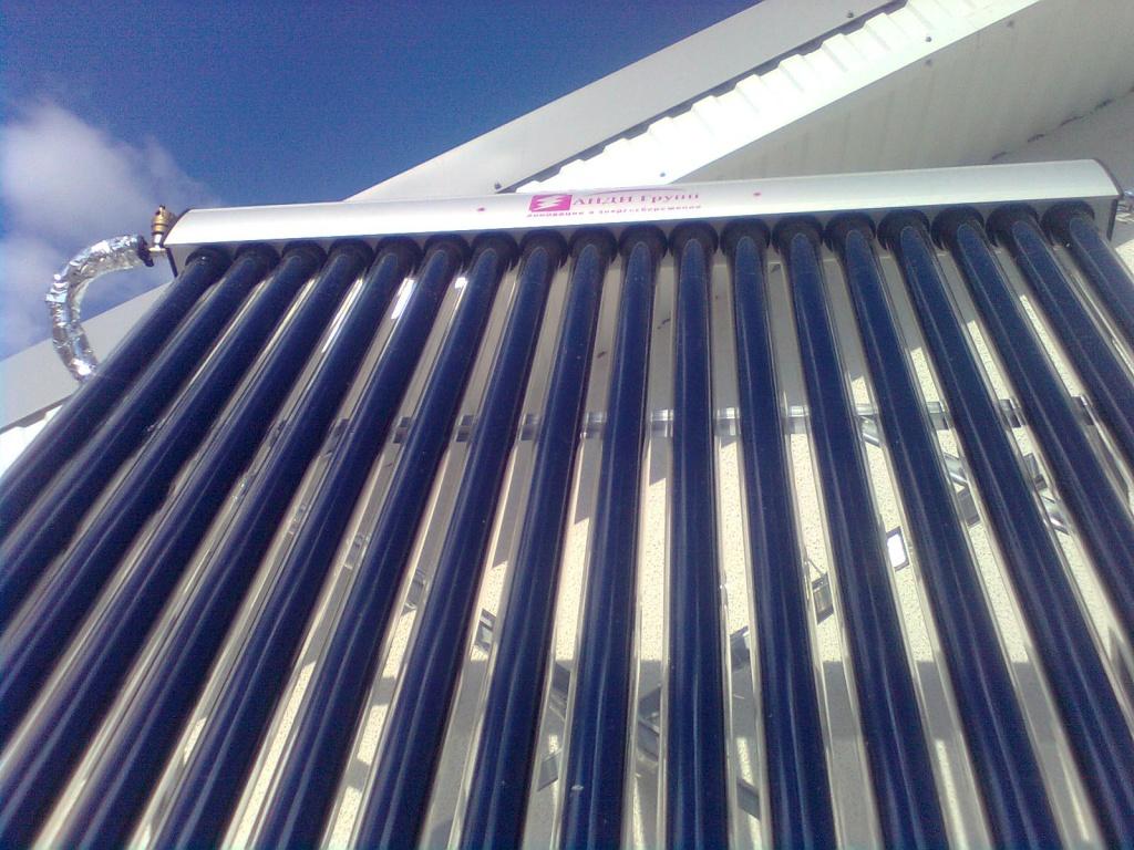Устройство вакуумных солнечных коллекторов