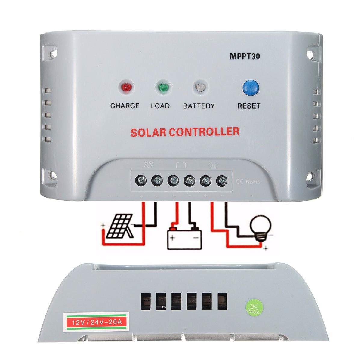 Назначение МРРТ-контроллер заряда солнечной батареи