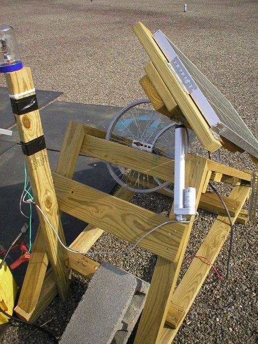 Как сделать трекер для солнечных батарей своими руками