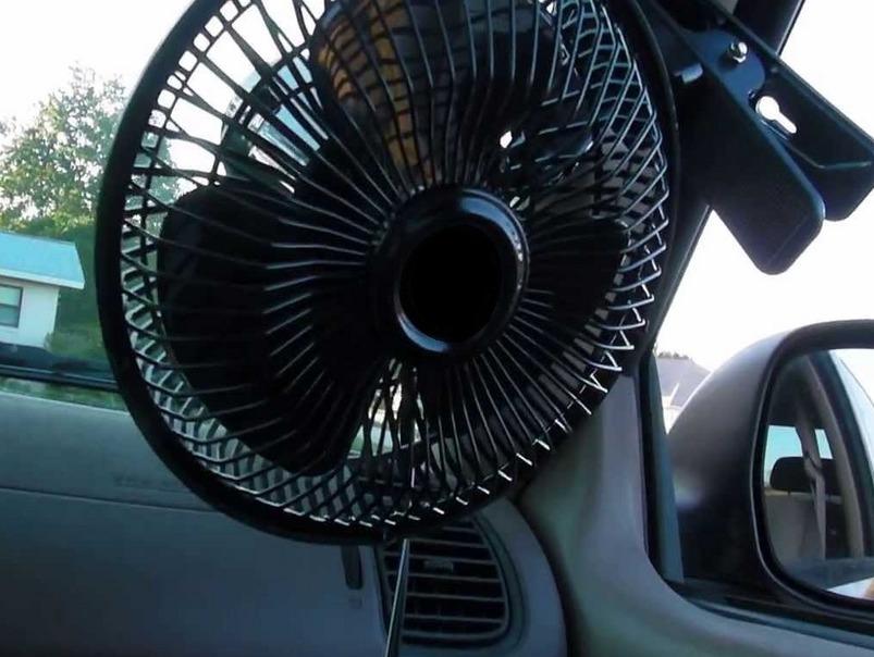 Применение кулеров в автомобилях