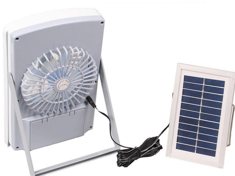 Вентилятор на солнечной батарее: применение, как сделать своими руками