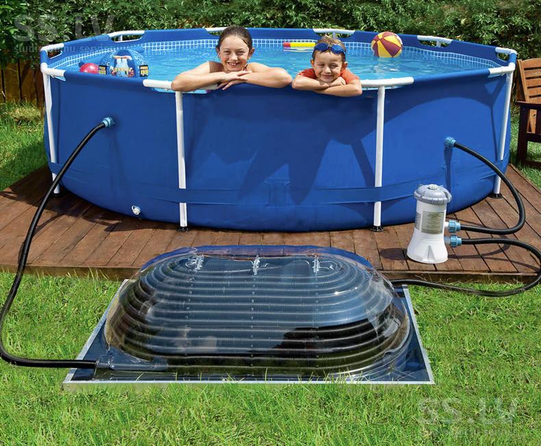 Солнечные батареи для подогрева воды в бассейне: секреты самостоятельного изготовления