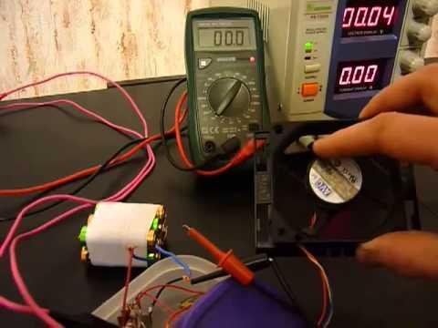 Собираем ветрогенератор своими руками из кулера: последовательность работы