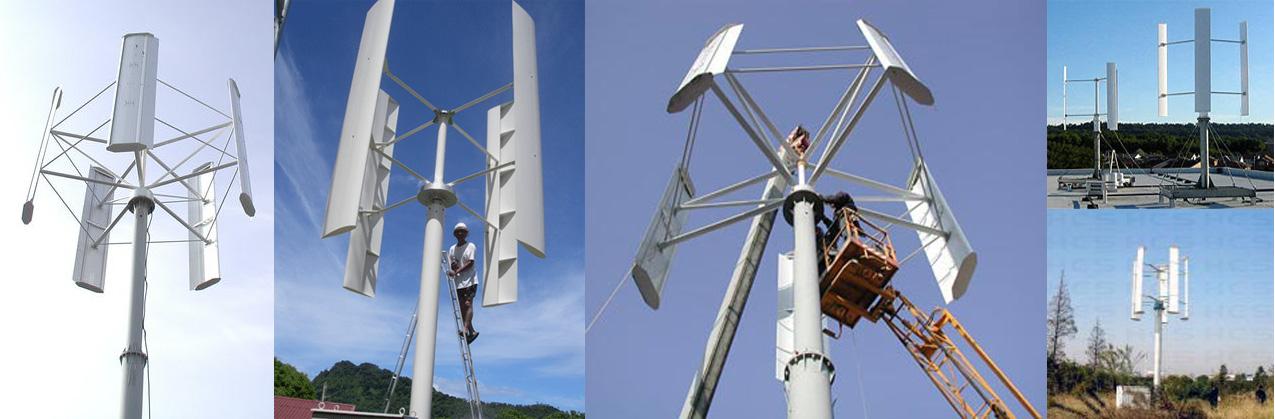 Вариативность конструкции ветрогенератора Ленца