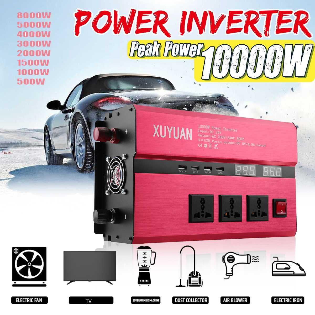 Becornce Солнечный мощность Инвертор 10000 Вт синусоида