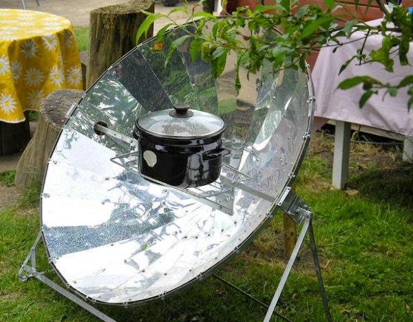 Варианты изготовления солнечных печей своими руками