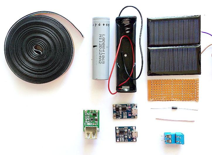 Как сделать солнечное зарядное устройство для смартфона своими руками