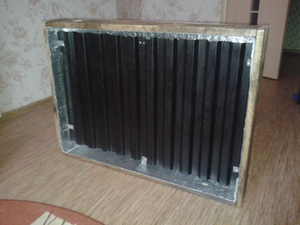 Как собрать простой солнечный коллектор из профнастила своими руками
