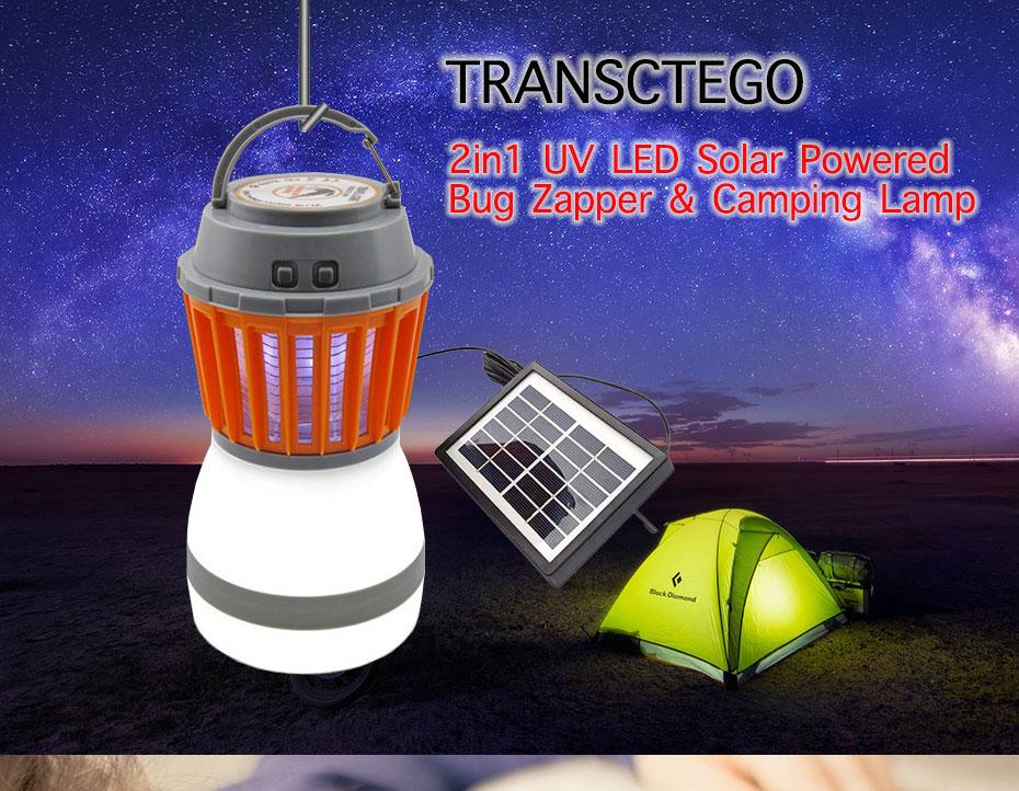 ТОП-5 светодиодных кемпинговых фонарей на солнечной батарее