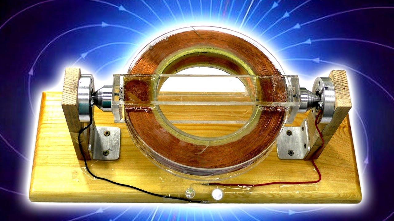 Схема получения электричества из воздуха по проекту Стивена Марка
