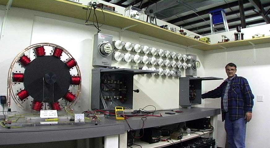 Конструкция и принцип действия мотора генератора Бедини