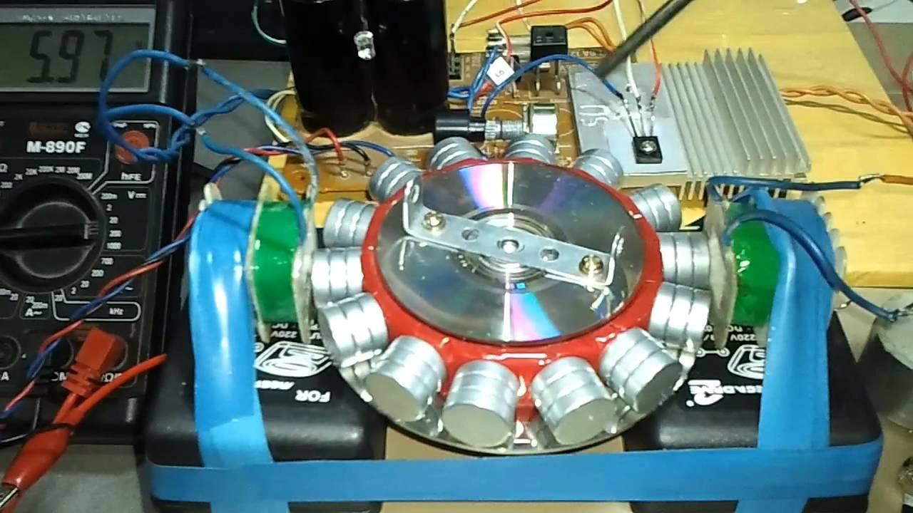 генератора Бедини на мофсет транзисторе