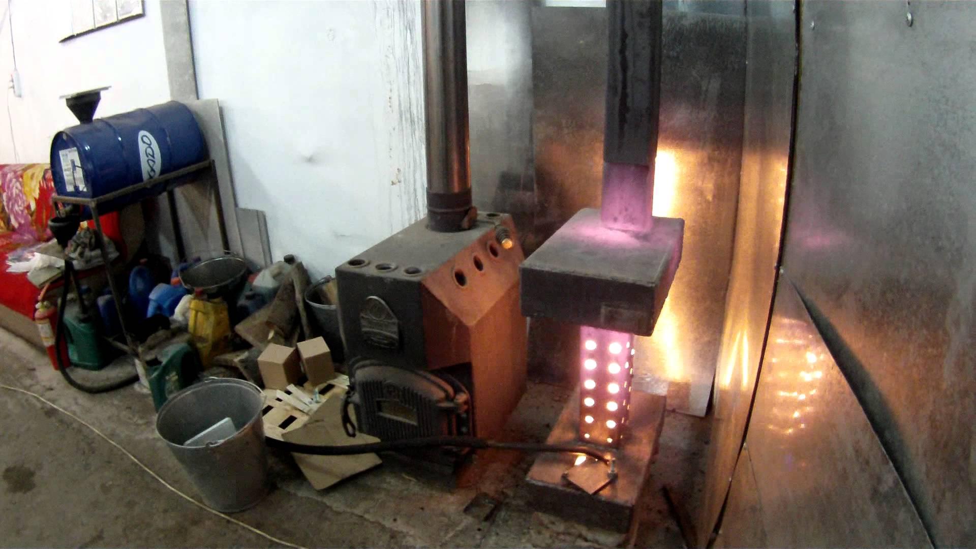 Отопление на отработанном масле для частного дома: как организовать