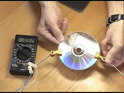 Особенности изготовления и сборки солнечной батареи из СД-дисков