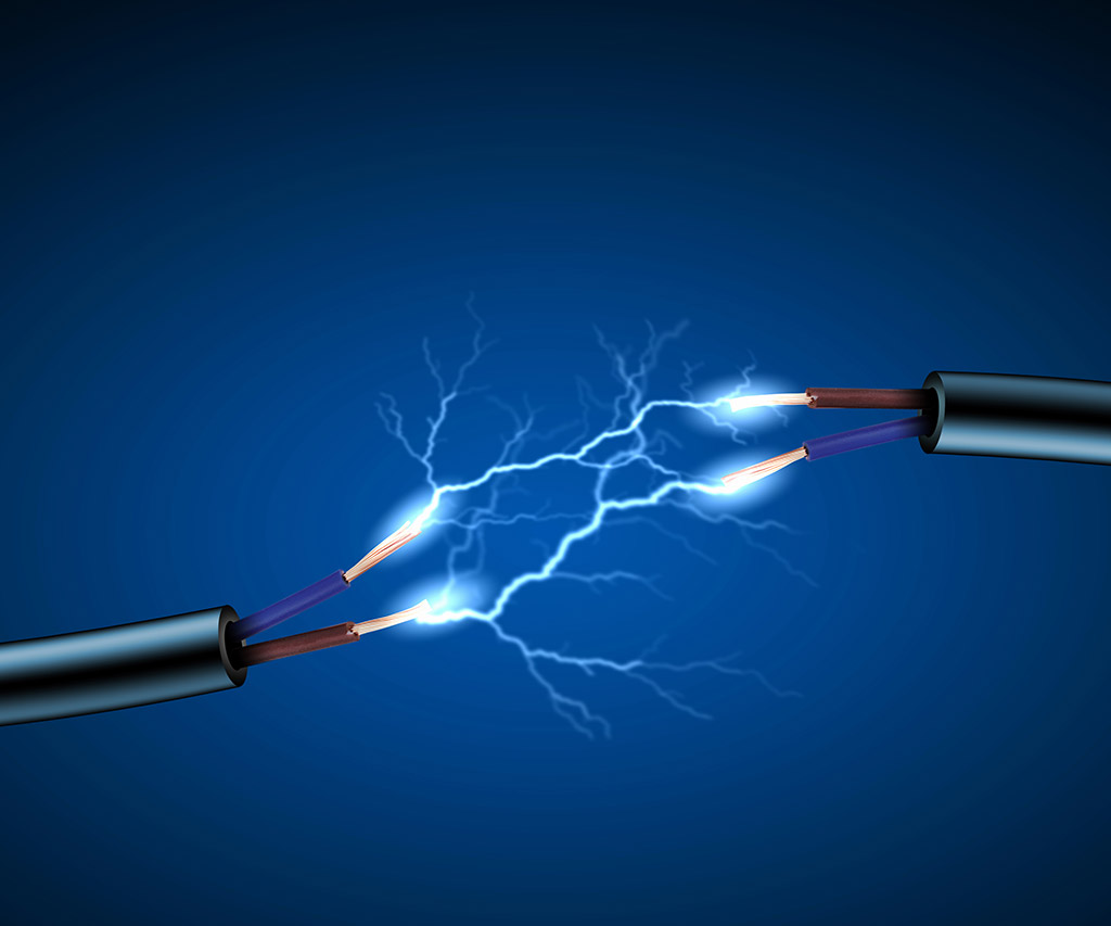 Медный и железный электроды