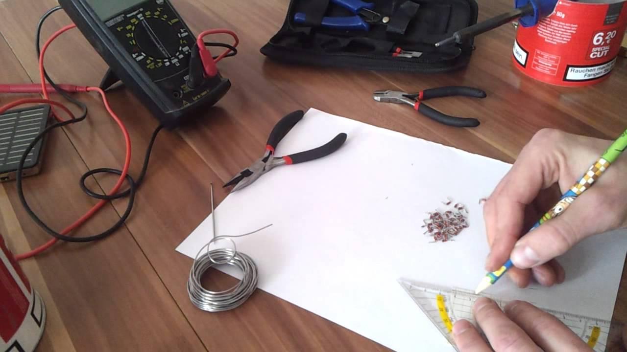 Перечень инструментов и материалов для солнечной панели из диодов