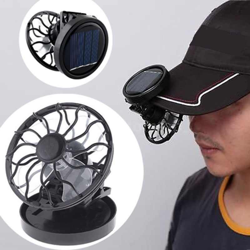Вентиляторы на солнечных батареях для кепки