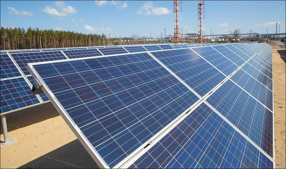 От крупной солнечной станции в России получены первые промышленные объемы электроэнергии
