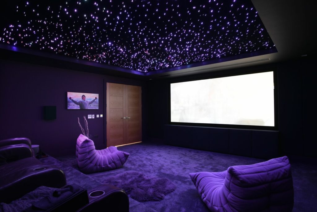 обустройство кинозала в домашних условиях