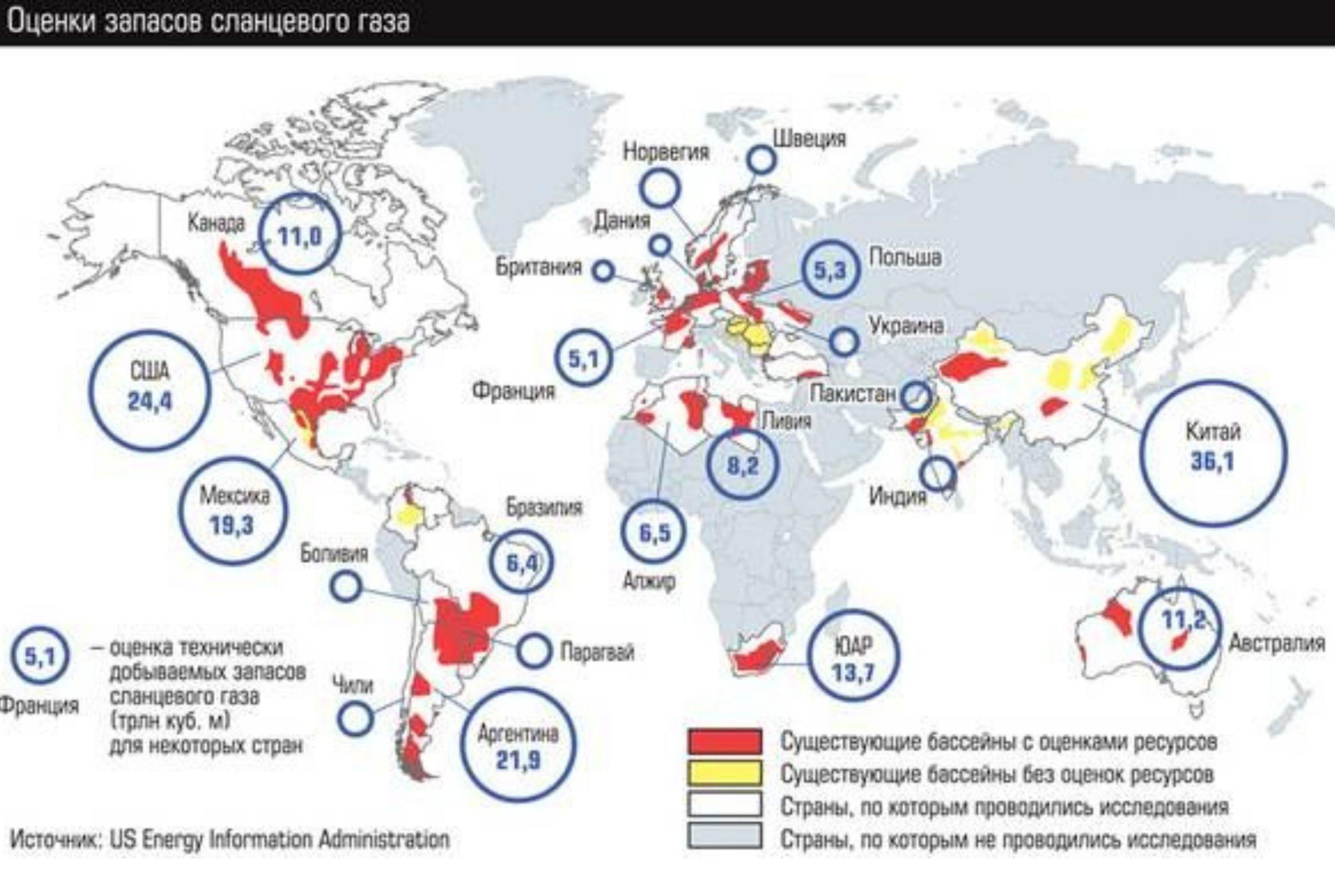 Горючие сланцы это альтернативный источник добычи нефти и газа