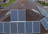 Домашняя солнечная электростанция, отдающая энергию в сеть