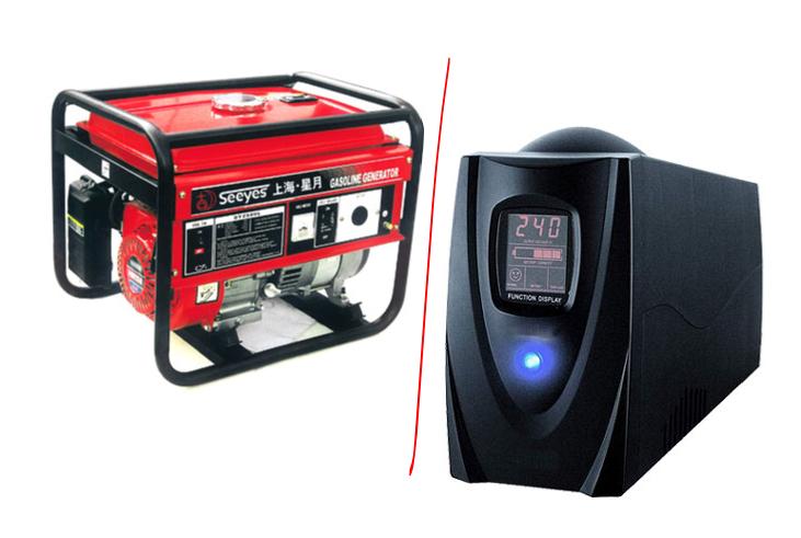ИБП или генератор для частного дома: все, что необходимо знать покупателю устройств для альтернативного энергоснабжения