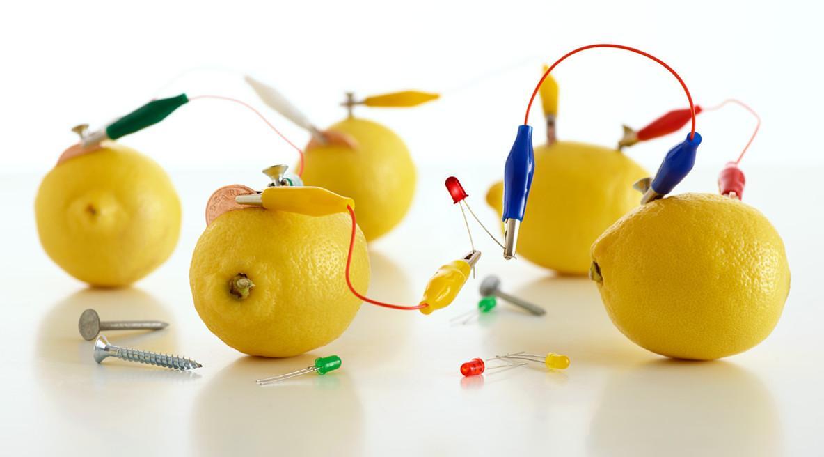 Добываем электричество из лимона: пошаговая инструкция.